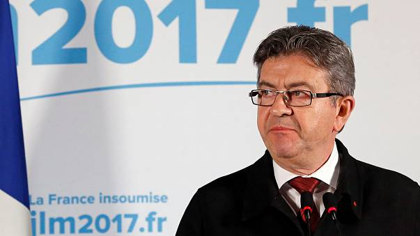 Far-left voters voice frustration at Melenchon's HQ