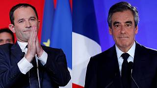 """Os """"grandes derrotados"""" apelam ao voto em Macron"""