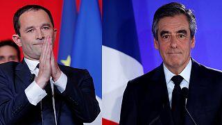 Hamon y Fillon asumen la derrota del bipartidismo en Francia
