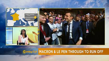 French voters choose Macron, Le Pen for May 7 run-off [The Morning Call]