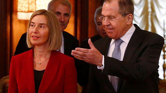 موغيريني تلتقي لافروف في موسكو لأول مرة