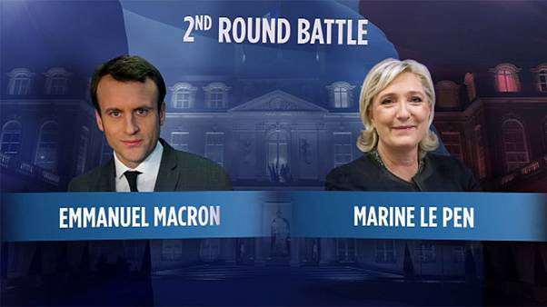 Macron and Le Pen to go head-to-head for the French Presidency