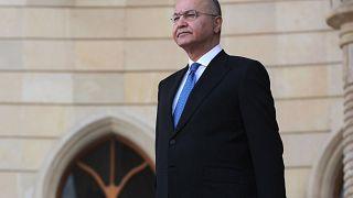 Image: Iraqi President Barham Saleh in the capital Baghdad