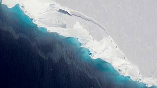 A hole big enough to fit two-thirds of Manhattan has formed under critical glacier