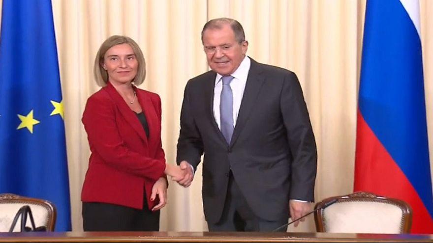 سوریه، محور گفتگوی فدریکا موگرینی و سرگئی لاوروف