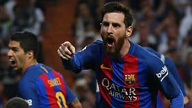Leo Messi desata la locura en el Bernabéu