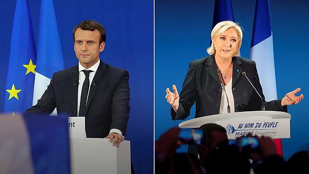 Макрон и Ле Пен готовятся к теледебатам