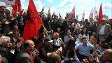 Στους δρόμους κατέβηκαν χιλιάδες Αλβανοί