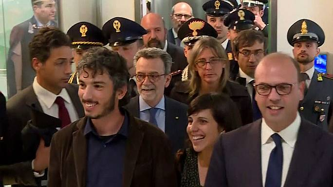 Türkiye'den sınır dışı edilen İtalyan gazeteci Del Grande ülkesine vardı