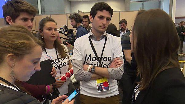 Az önkéntesek munkája a francia választásokon