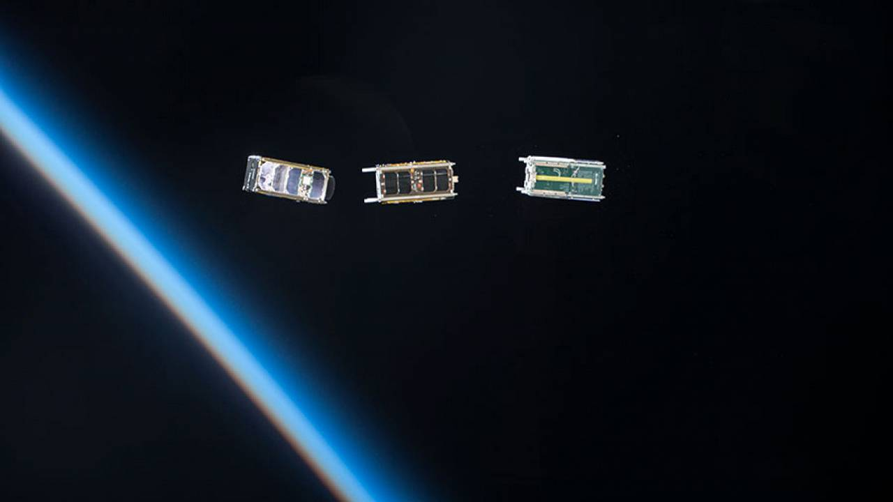 Image: Cubesats, the standard small satellite
