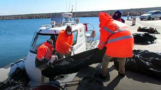 У побережья Лесбоса затонула лодка с мигрантами