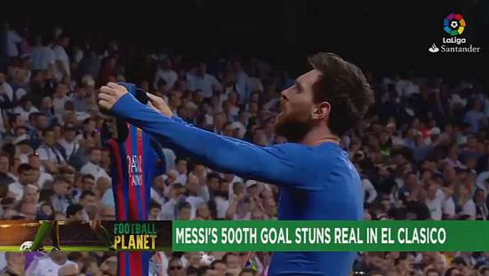 Magical Messi deflates Real to breathe life into title race [Football Planet]