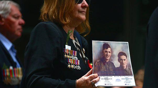 L'Australie et la Nouvelle-Zélande commémorent leur participation à la Grande Guerre
