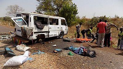 24 dead after passenger bus, tanker collision - Kenya police