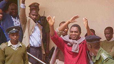 Zambian opposition chief sick in jail, bishops decry 'dictatorial' regime