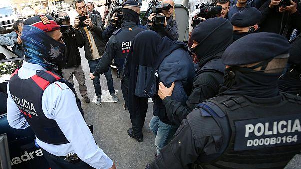 Iszlamistákra csapott le a rendőrség Barcelonában
