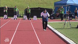 Atleta de 101 años gana el oro en los 100 metros lisos