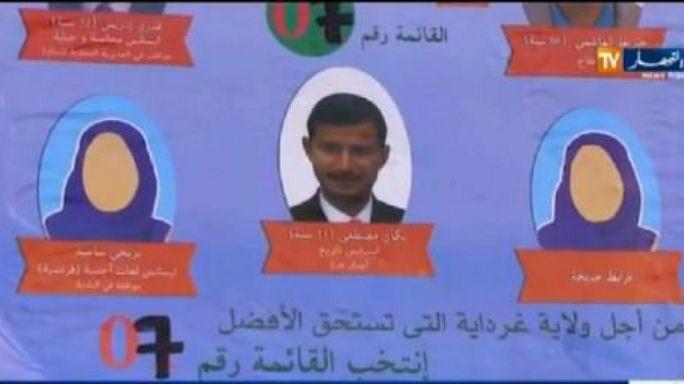 مرشحات للبرلمان الجزائري يخفين وجوههن