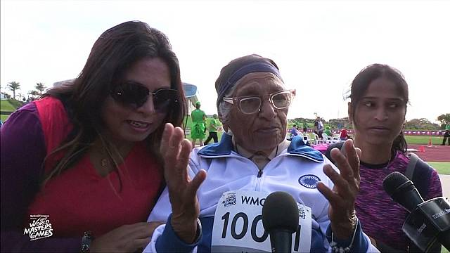 101-year-old Indian woman wins 100 metre 'sprint'