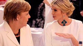 Όταν η Α. Μέρκελ συνάντησε την Ιβάνκα (Τραμπ)