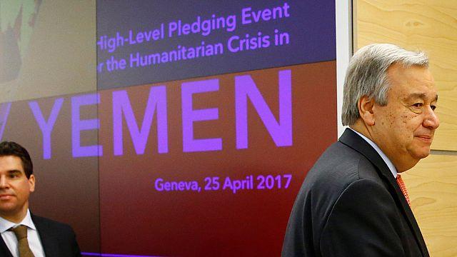 "Yemen, vertice a Ginevra. Guterres (Onu): ""Rischio di una catastrofe umanitaria"""
