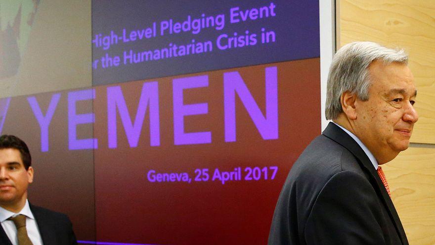 La comunidad internacional ofrece 1.100 millones de dólares para hacer frente a la crisis en el Yemen