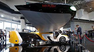 رونمایی از خودروی پرنده با قیمت ۱.۵ میلیون یورو