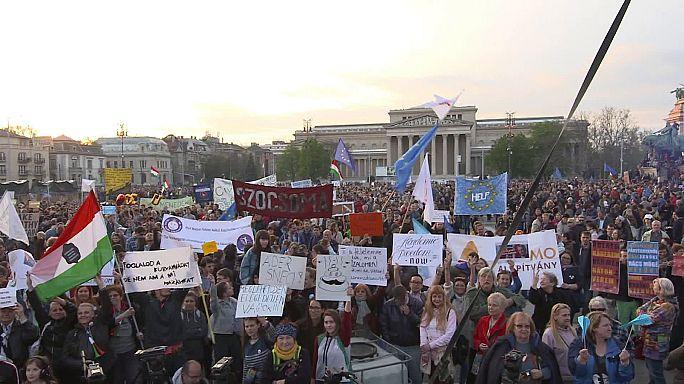 CEU Budapest sucht Unterstützung in Brüssel