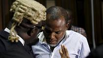 Nigeria court grants bail to ailing leader of Biafra movement
