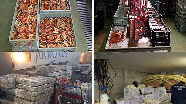Maxi sequestro Europol-Interpol di alimenti contraffatti da 230 milioni di euro