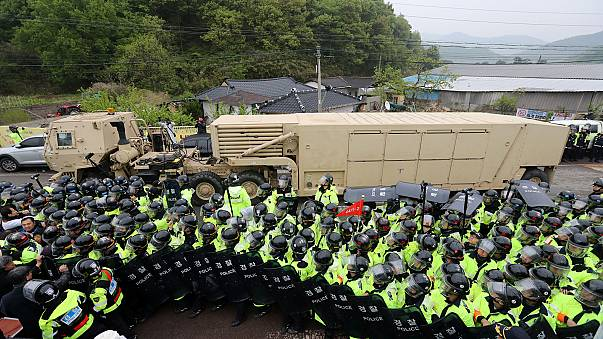 US moves anti-missile system to South Korea amid tensions with North