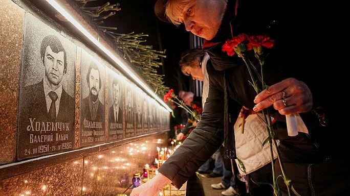 Çernobil nükleer faciası kurbanları anıldı