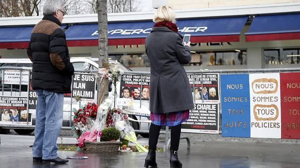 Ten arrested in probe of 2015 Paris deli attack