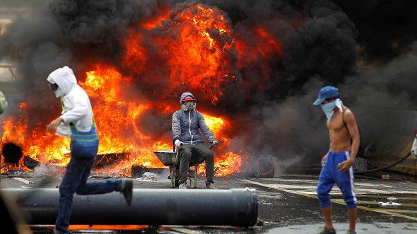 Nueva manifestación de la oposición en Caracas. Venezuela amenaza con retirarse de la OEA