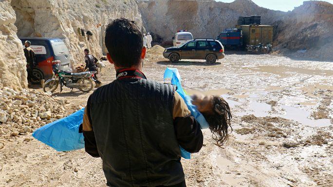 Paris: Syrische Regierung für Giftgasangriff in Syrien verantwortlich