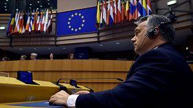 Hungary's PM Orban rebuffs EU criticism of university law