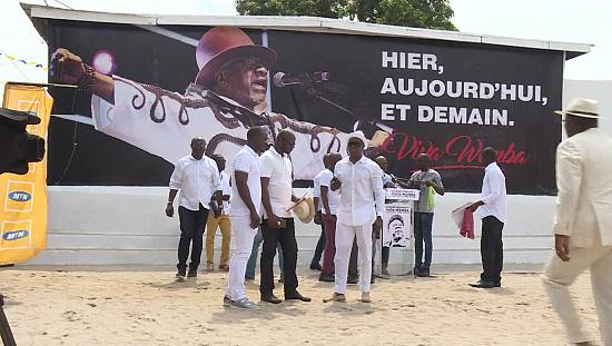 Ivory Coast pays tribute to Papa Wemba [no comment]