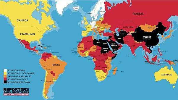 گزارشگران بدونمرز: ایران مقام ۱۶۵ آزادی رسانهها را در جهان دارد