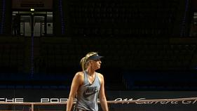 Maria Sharapova de retour sur les courts de tennis