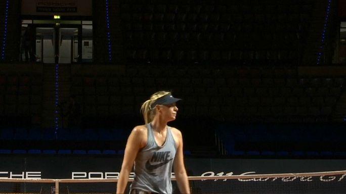 Tennis: Doping-Sünderin Maria Scharapowa zurück auf dem Platz