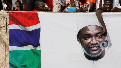 """Le président gambien Adama Barrow en tournée en Afrique de l'Ouest pour dire """"merci"""""""