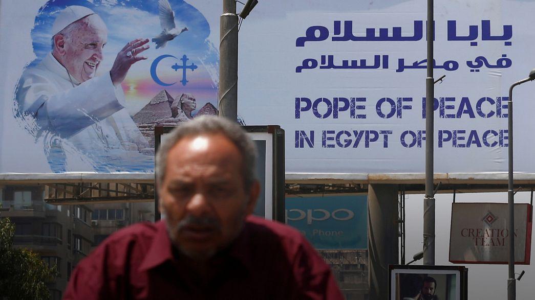 Глава римской католической церкви едет в Египет с посланием мира и любви