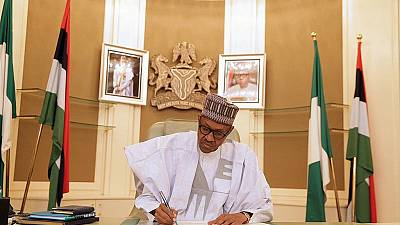 Nigeria's President Buhari to work from home