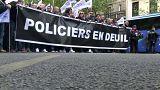 Frankreich: Polizisten demonstrieren für bessere Arbeitsbedingungen