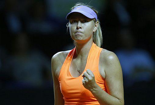 Retour gagnant pour Sharapova