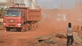 Major bauxite mining hub hit by riots in Guinea