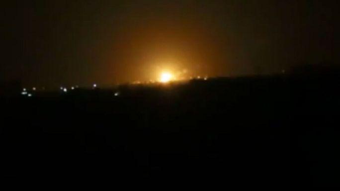 مصادر استخباراتية: غارات جوية اسرائيلية وراء انفجارات مطار دمشق