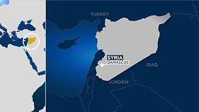 Мощный взрыв в районе международного аэропорта в Дамаске