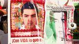 Meksika'da 'kayıp öğrenciler için adalet' yürüyüşü